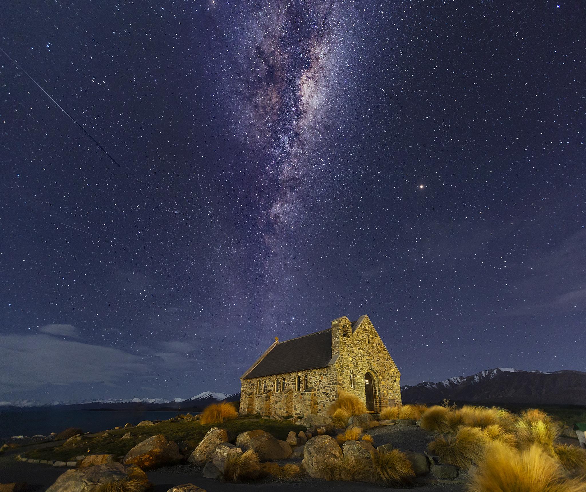 Church of the Good Shepherd , Lake  Tekapo